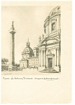Click here to enlarge image and see more about item n0844: Rome, Italy, La Colonus Traiaua Postcard