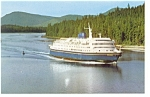 MV Columbia  a Canadian Ferry  Postcard n0857