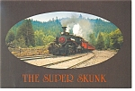 The Super Skunk Mallet Steam Locomotive in CA  Postcard n0859