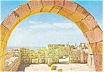 Click here to enlarge image and see more about item n0871: Israel Avdat Southern Church Postcard n0871