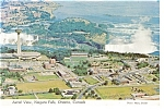 Aerial View of Niagara Falls Postcard n0878