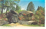 Click here to enlarge image and see more about item n0891: Gettysburg PA The Devils Den Postcard n0891