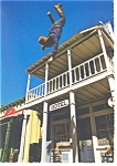 Click here to enlarge image and see more about item n0905: Universal Studios Action Arena High Fall Postcard n0905