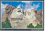 Click here to enlarge image and see more about item n0906: Mt Rushmore, South Dakota Postcard