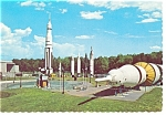 Click here to enlarge image and see more about item n0949: Huntsville, AL, Space and Rocket Center Postcard