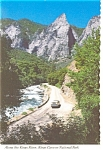 Kings Canyon National Park CA  Kings River Postcard n0951