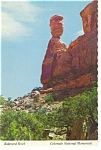 Click here to enlarge image and see more about item n0981: Balanced Rock, Colorado National Monument Postcard