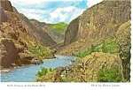 Hell's Canyon on the Snake River Postcard