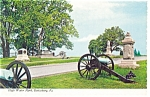 Click here to enlarge image and see more about item n0985: Gettysburg, PA, High Water Mark Postcard