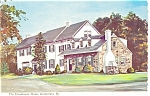 Gettysburg,PA, The Eisenhower Home Postcard