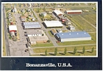 Bonanzaville USA North Dakota Postcard n0997