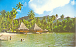 Click here to enlarge image and see more about item n1023: Hotel Bali Hai French Polynesia Postcard n1023