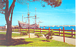 Mayflower II at Plymouth MA Postcard n1034