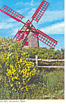 Old Mill, Nantucket, MA Postcard