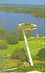 Click here to enlarge image and see more about item n1057: Island in the Sky Cypress Garden  ,Florida  Postcard n1057