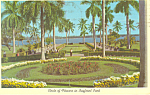 Circle of Flowers Bayfront Park Miami Florida Postcard n1063