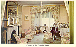 Dresden Room Home of FDR Hyde Park New York Postcard n1099