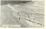 Bathing Beach  Dunkirk  New York Postcard n1101