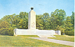 Click here to enlarge image and see more about item n1112: Peace Monument,Gettysburg, PA Postcard 1969