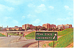 Pennsylvania State University,  Postcard