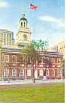 Independence Hall Philadelphia PA Postcard n1126