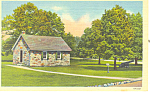 Old Camp School House, Valley Forge, PA Postcard
