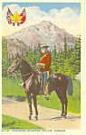 Click here to enlarge image and see more about item n1140: Royal Canadian Mounted Police Postcard