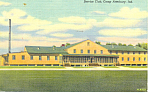Click here to enlarge image and see more about item n1146: Service Club Camp Atterbury IN Postcard n1146