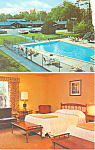 The Dutch Patroon Garden Motel, Hyde Park, NY Postcard