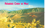 Click here to enlarge image and see more about item n1207: Haleakala Crater Maui Hawaii n1207