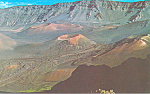 Click here to enlarge image and see more about item n1209: Cinder Cones,Haleakala Crater, Maui, Hawaii