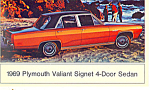 Click here to enlarge image and see more about item n1227: 1969 Plymouth Valiant 4 Door Sedan n1227