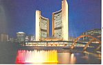 Click here to enlarge image and see more about item n1237: City Hall Toronto Ontario Canada n1237