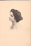Sketch of a Lady Postcard n1305