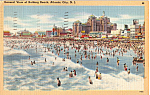 General View of Beach Atlantic City New Jersey n1342