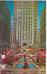 Rockefeller Center in Spring New York City n1352