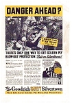 Goodrich Safety Silvertown Tire AD nov1653 1930s