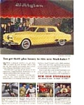 Click here to enlarge image and see more about item nov1811: 1950 Studebaker Land Cruiser Ad nov1811