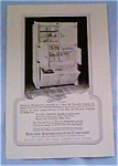 Click here to enlarge image and see more about item nov2113: Seeger Refrigerator Company Ad From 1927