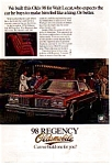 Click here to enlarge image and see more about item olds06: 1976 Oldsmobile 98 Regency Ad.