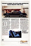 Click here to enlarge image and see more about item olds07: Oldsmobile Cutlass Supreme Ad
