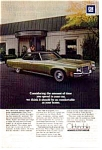 Click here to enlarge image and see more about item olds09: 1971 Oldsmobile Ninety Eight Sedan Ad