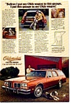 Click here to enlarge image and see more about item olds15: Oldsmobile Custom Cruiser Garage Ad olds15