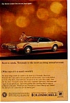Click here to enlarge image and see more about item olds16: Oldsmobile Toronado Ad