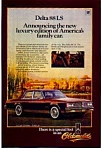 Click here to enlarge image and see more about item olds19: Oldsmobile Delta 88 LS Ad
