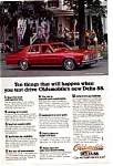 Click here to enlarge image and see more about item olds5: 1977 Oldsmobile Delta 88 Ad olds5