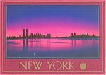 Hudson River and New York Harbor Postcard p0023