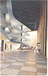 Click here to enlarge image and see more about item p0024: United Nations Public Lobby Postcard