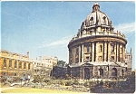 Click here to enlarge image and see more about item p0037: Radcliffe Camera Oxford England Postcard p0037
