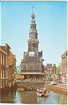 Click here to enlarge image and see more about item p0039: Weigh House ca 1582 Alkmaar Holland Postcard
